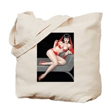 Seductive Girl Tote Bag
