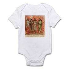 Fire protection from God in Daniel Infant Bodysuit