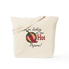 One Hot Pepere Tote Bag