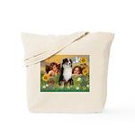 Cherubs / Aussie (tri) Tote Bag