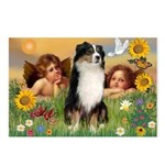 Cherubs / Aussie (tri) Postcards (Package of 8)