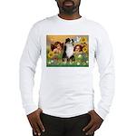 Cherubs / Aussie (tri) Long Sleeve T-Shirt