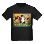 Cherubs / Aussie (tri) Kids Dark T-Shirt