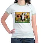 Cherubs / Aussie (tri) Jr. Ringer T-Shirt