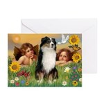 Cherubs / Aussie (tri) Greeting Cards (Pk of 10)