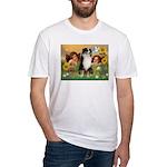 Cherubs / Aussie (tri) Fitted T-Shirt