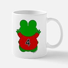 Four Year Old Frog Mug