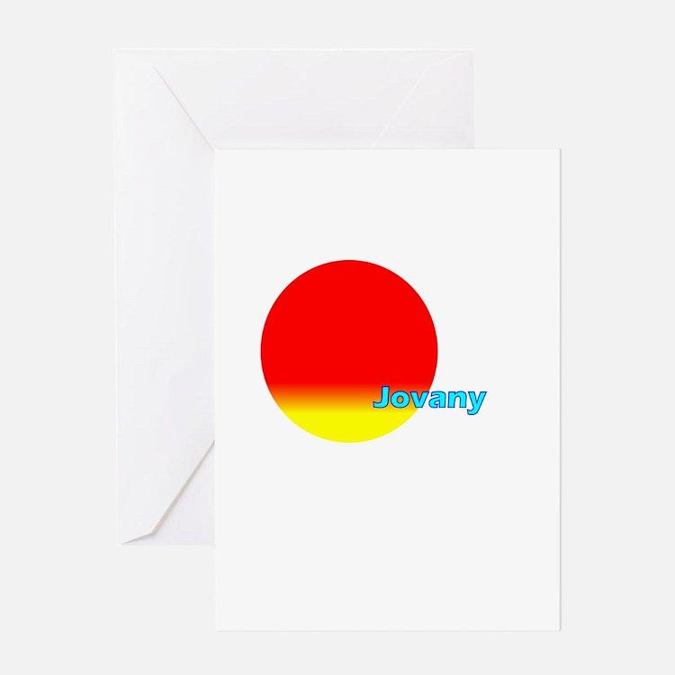 Jovany Greeting Card