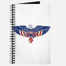 Eagle and American Flag Journal