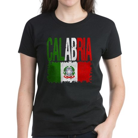Classic Retro Calabria Women's Dark T-Shirt