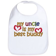 My Uncle is My Best Buddy Bib