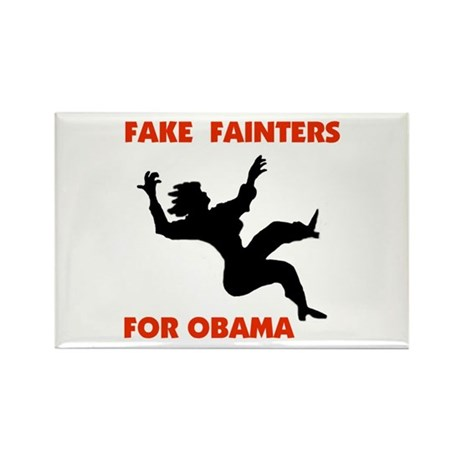 OBAMA FAKES Rectangle Magnet
