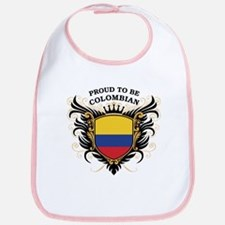 Proud to be Colombian Bib