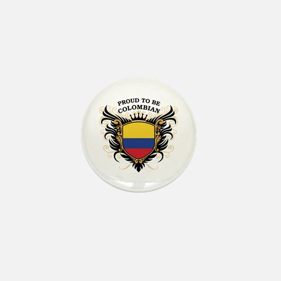 Proud to be Colombian Mini Button