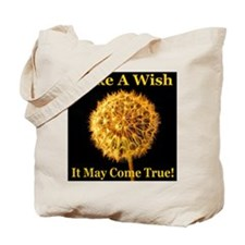 Unique I love making wishes Tote Bag