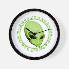 A.L.I.E.N. Encircled Lime Wall Clock