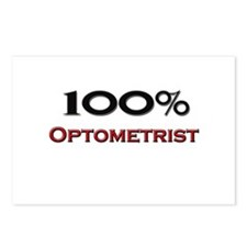 100 Percent Optometrist Postcards (Package of 8)