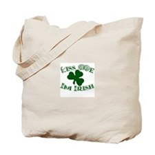 Cute Kiss me i'm irish Tote Bag