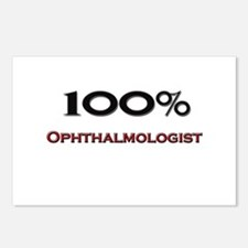 100 Percent Ophthalmologist Postcards (Package of