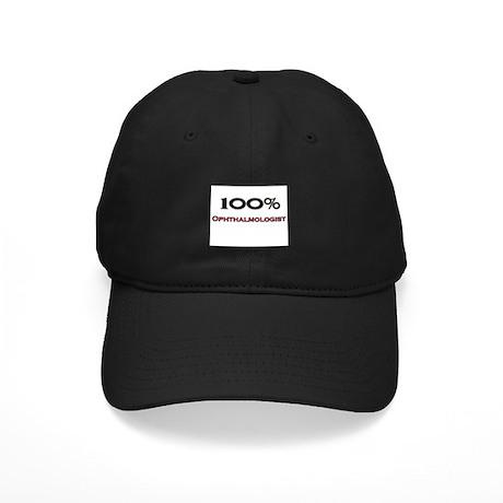 100 Percent Ophthalmologist Black Cap