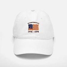 Retro 1776-1976 Flag Baseball Baseball Cap