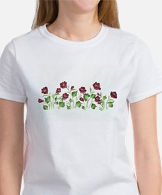 Purple Poppies Tee