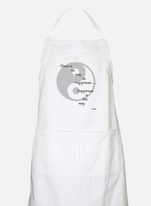 Happiness is the Way Tao BBQ Apron