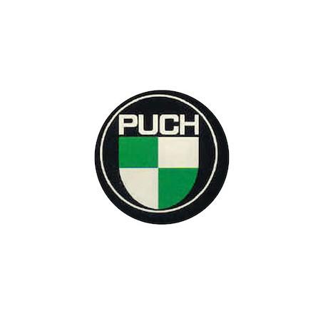 Black Puch Mini Button (100 pack)
