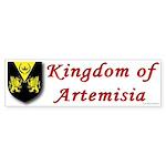 Kingdom of Artemisia Bumper Sticker