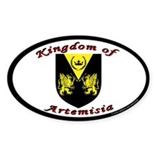 Kingdom of Artemisia Oval Decal