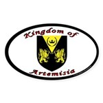 Kingdom of Artemisia Oval Sticker
