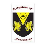 Kingdom of Artemisia Rectangle Sticker