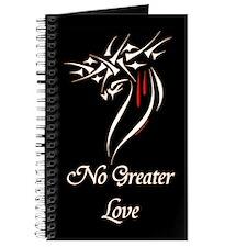 Jesus Christ No Greater Love Journal