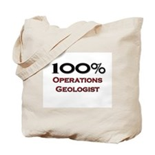 100 Percent Operations Geologist Tote Bag