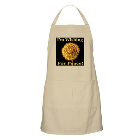 I'm Wishing For Peace! BBQ Apron