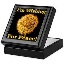 I'm Wishing For Peace! Keepsake Box