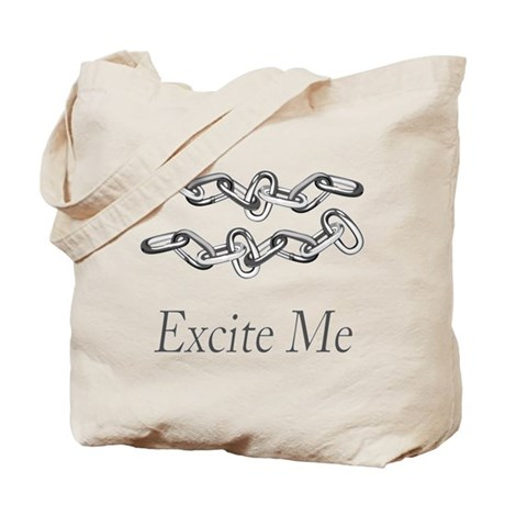 Chains Excite Me Tote Bag