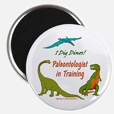 "Train Paleontologist 2.25"" Magnet (10 pack)"