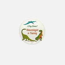 Train Paleontologist Mini Button (10 pack)