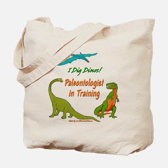 Train Paleontologist Tote Bag