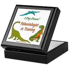 Train Paleontologist Keepsake Box