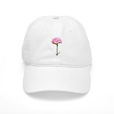 Pink Carnation Baseball Cap