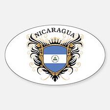 Nicaragua Sticker (Oval)