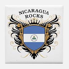 Nicaragua Rocks Tile Coaster