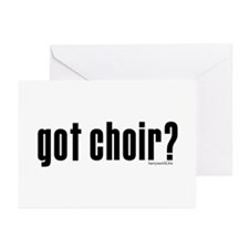 got choir? Greeting Cards (Pk of 20)