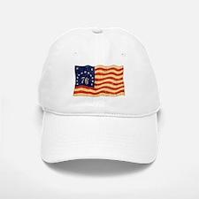 Retro 1776 American Flag Baseball Baseball Cap