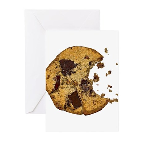 Chocolate Chip Cookie Greeting Cards (Pk of 20)