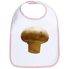 Button Mushroom Bib