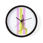 YOGA FOR LIFE Wall Clock