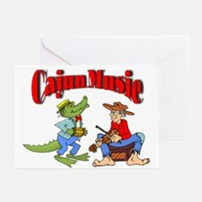Cajun Zydeco Greeting Cards (6)